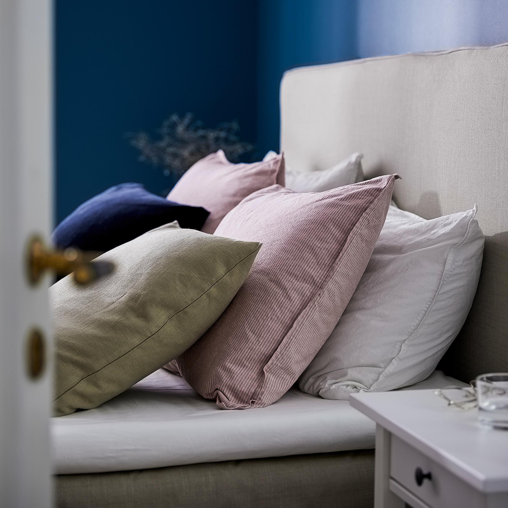 Bergpalm Duvet Cover And Pillowcase S Pink Stripe Housse De Couette Jeux De Housse De Couette Et Housse De Couette Rose