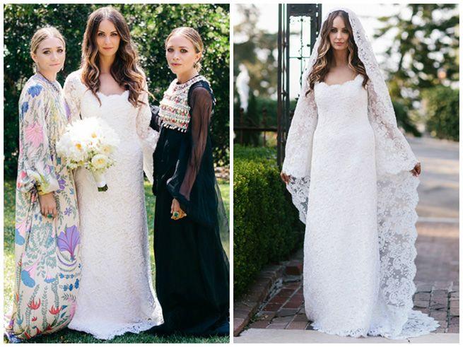 Mary Kate And Ashley Olsen Design Boho Chic Wedding Dress Chic Wedding Dresses Boho Chic Wedding Dress Wedding Dresses