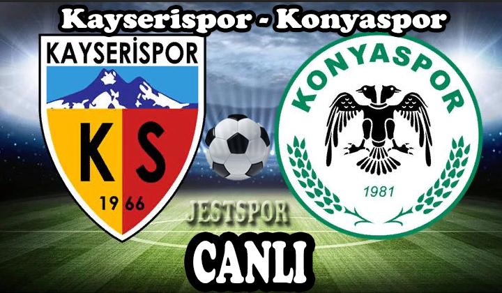 Kayserispor Konyaspor Jestspor Izle Izleme Futbol Mac