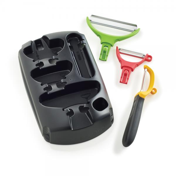 Tupperware Click Series Peeler Set: Achieve peeler ...