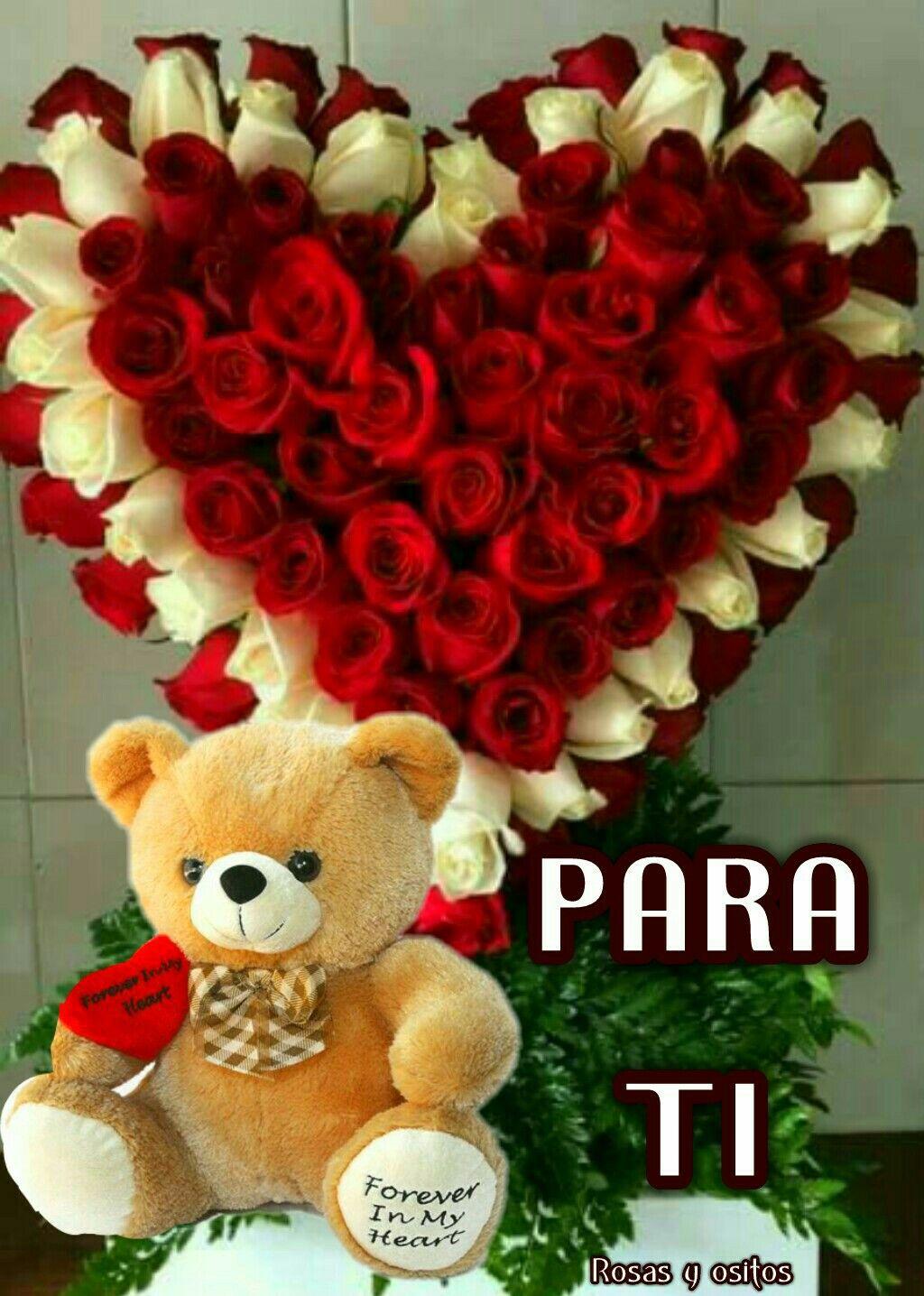 Detalles Bellos Arreglos Florales Rosas Corazones De Amor