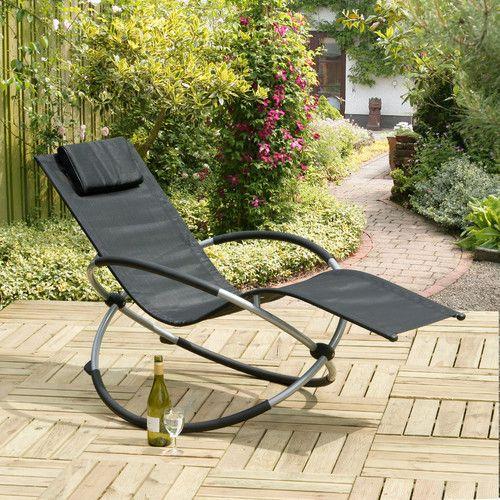 Suntime Orbit Relaxer Folding Rocking Chair Sun Lounger. Suntime Orbit Relaxer Folding Rocking Chair Sun Lounger   Chairs