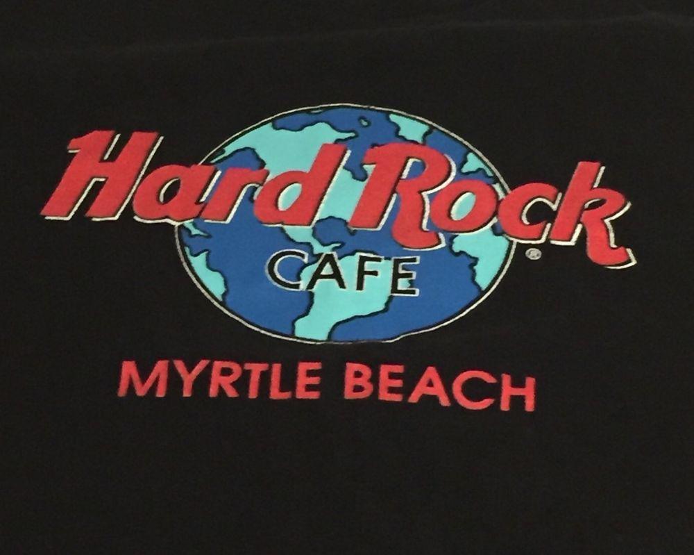 Design t shirt hard rock cafe - Hard Rock Cafe Myrtle Beach X Large Short Sleeve Tee T Shirt Xl