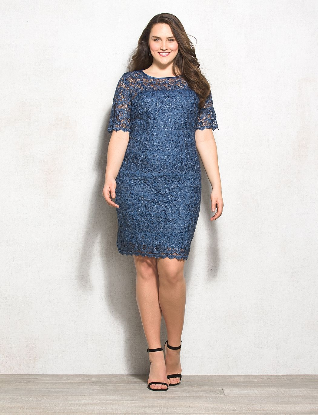 Mother of the groom? Db RSVP Plus Size Lace Sheath Dress | dressbarn ...