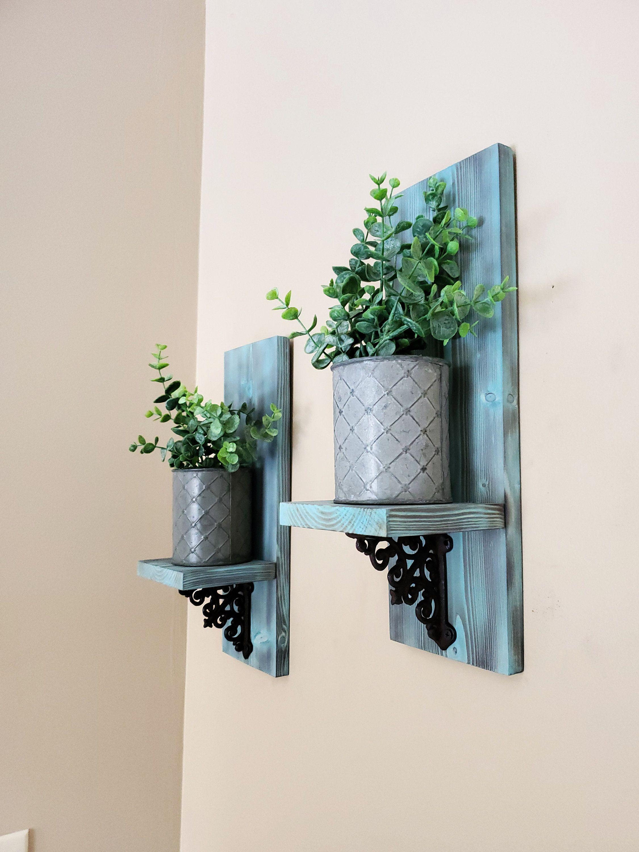 Gold Bathroom Decor Succulent Frame Vertical Planter Boho Bedroom Wall Decor Tillandsia Wire Holders Garden Wall Art