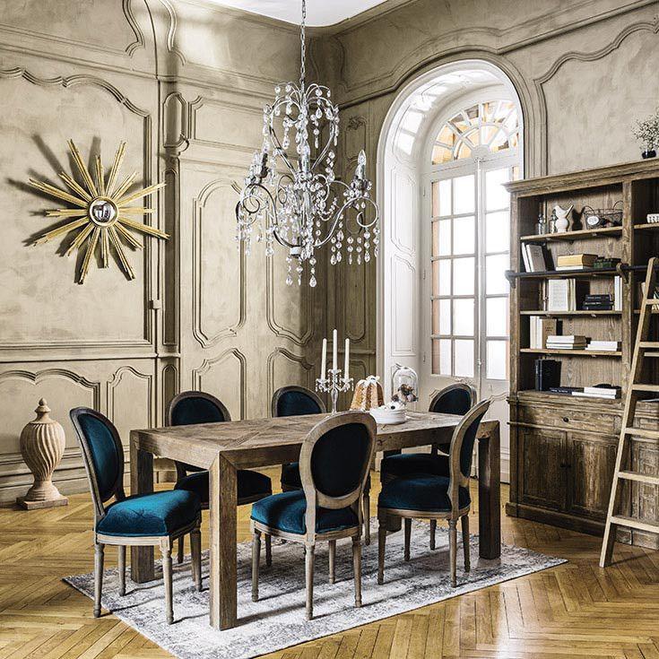 Meubles d co d int rieur classique chic maisons du monde int campagne pinterest for Deco salon classique