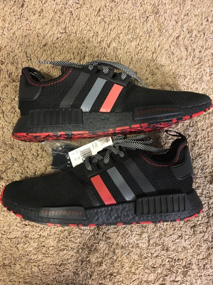 reputable site aff0e ac0da Adidas NMD R1 Red marbles Sz US 13 100% Authentic. Very ...