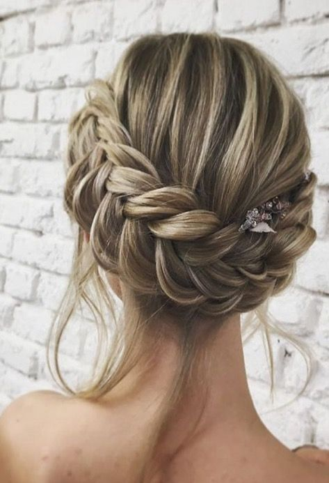 Elegance In Detail Braided Hairstyles For Wedding Hair