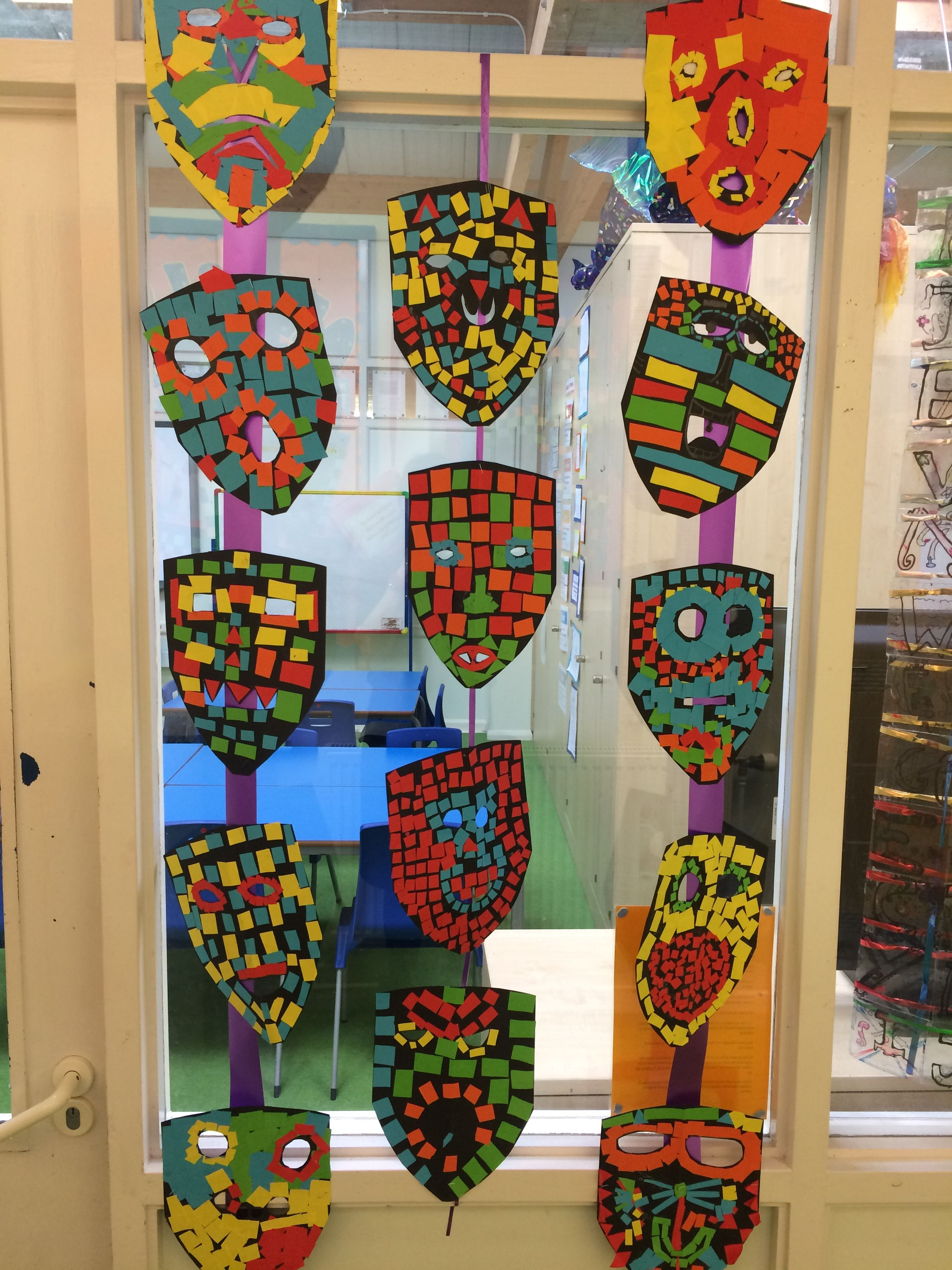 Year 4 Mayan Masks With Images