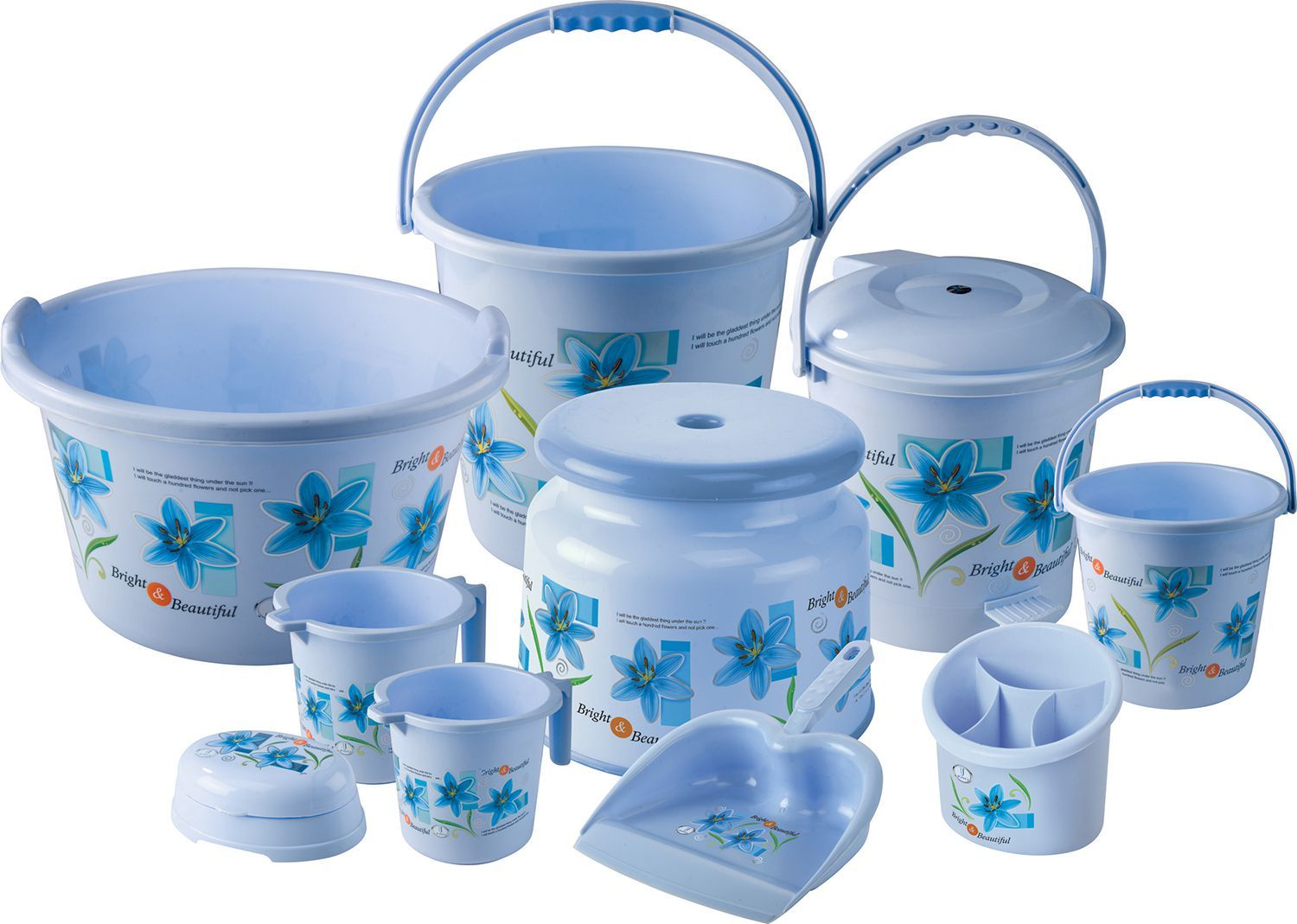 8 Piece Plastic Bathroom Set Online Here With Cod Couponndeal Bathroomset Bucketsetonline