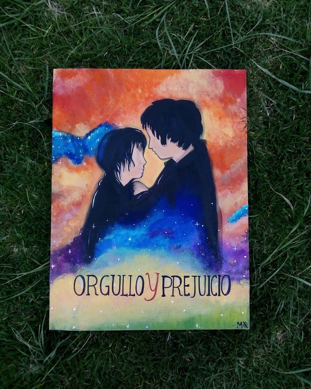 Orgullo y prejuicio.  30x 40 cm Acrílico sobre madera . . . . . . . . #art  #colorful #orgulloypreju...
