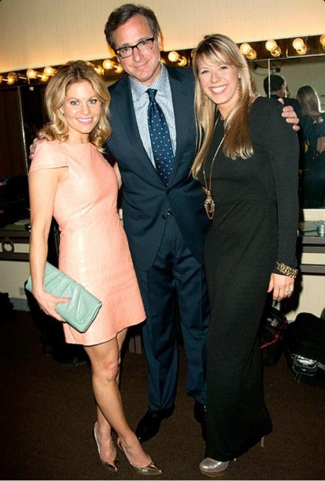 Bob Saget Jodie Sweetin And Candace Cameron Bure At Schleroderma