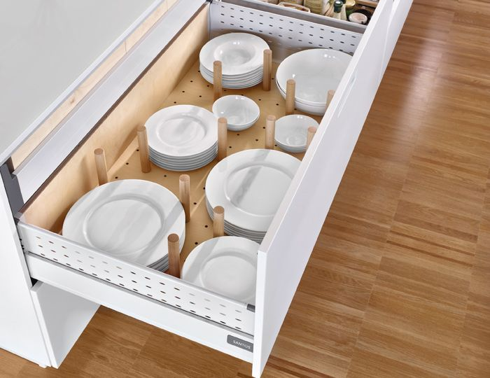 Kitchen Interior utilities: Level 2 Plate rack Organising the ...
