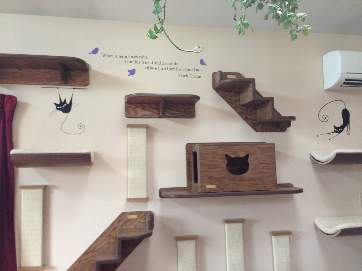 Adorable diy projects for cat lovers cat wall furniture
