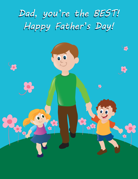 Fathers day greeting card happy fathers day pinterest happy happy fathers day greetings cards wishes from daughter m4hsunfo