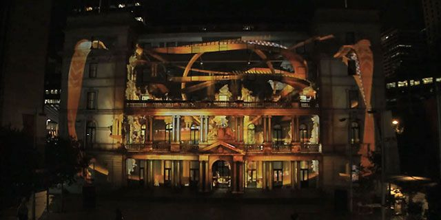 The 10 Most Insane And Mind Blowing 3d Projection Mapping Shows Ever Blog Of Francesco Mugnai 3d Projection Mapping Projection Mapping 3d Projection