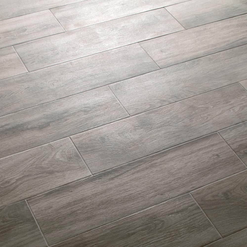Daltile EverMore Shadow Wood In X In Porcelain Floor And Wall - Daltile mesquite tx