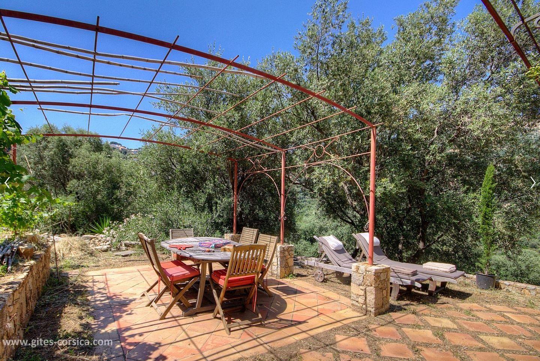 Sur Une Propriete De 2 500 M A Proximite D Ile Rousse Cette Maison De 250 M Entre Mer Et Montagne Est Le Poi Vacances Corse Decoration Exterieur Gite Rural