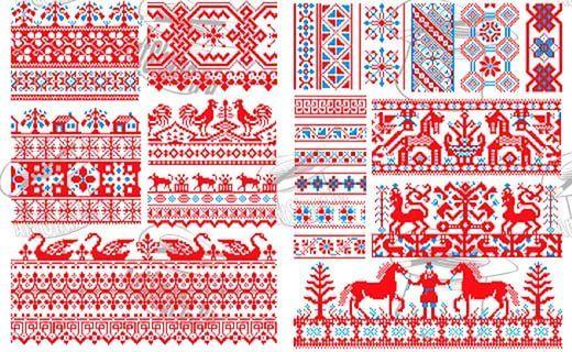 орнамент русского народа: 17 тыс изображений найдено в Яндекс.Картинках