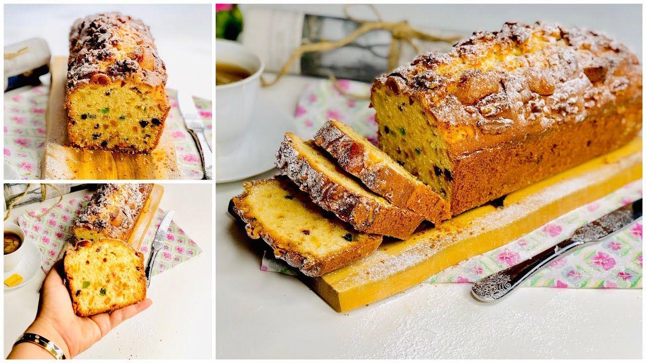 الطريقة الاصيله لعمل الانجلش كيك علي الطريقة الإنجليزية مضمونه 100 Youtube Desserts Food Baking