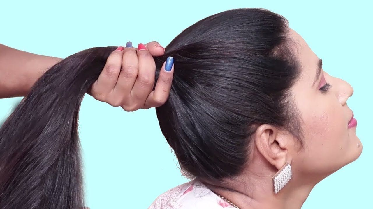 Unseen Party Hairstyle 2019 For Girls Hair Style Girl Hairstyles Easy Hairstyles For Girls Hairstyles Easy Easy Hairstyles Easy Hairstyles For Long Hair