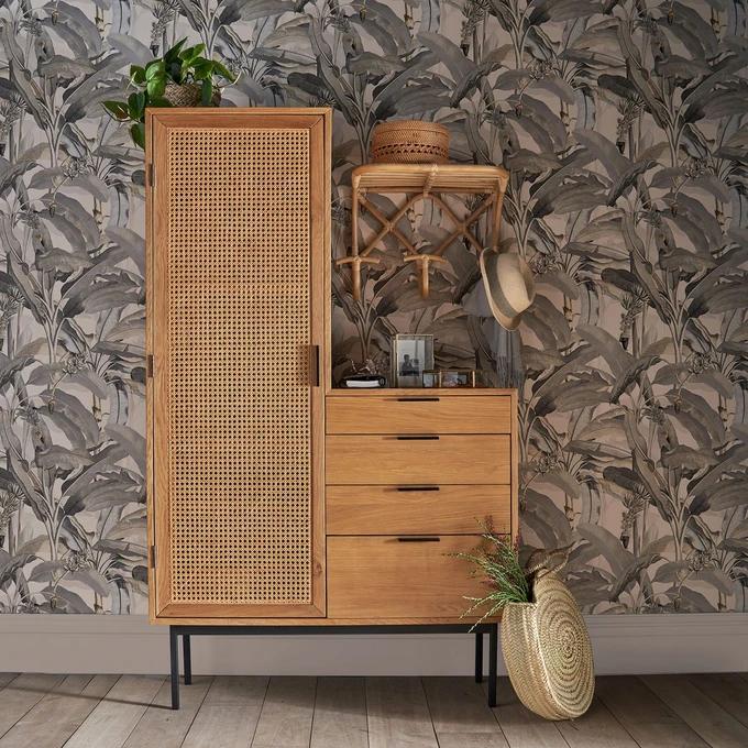 Armoire Dressing Waska Naturel La Redoute Interieurs La Redoute En 2020 Mobilier De Salon Idees De Decor Decoration Meuble