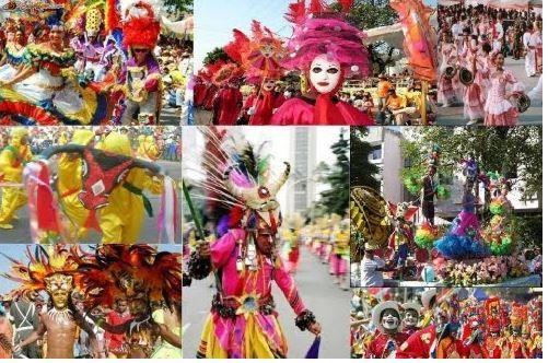 El Carnaval De Barranquilla Patrimonio De La Unesco Viajar Y Paladar Colombian Festival Painting Rio Carnival