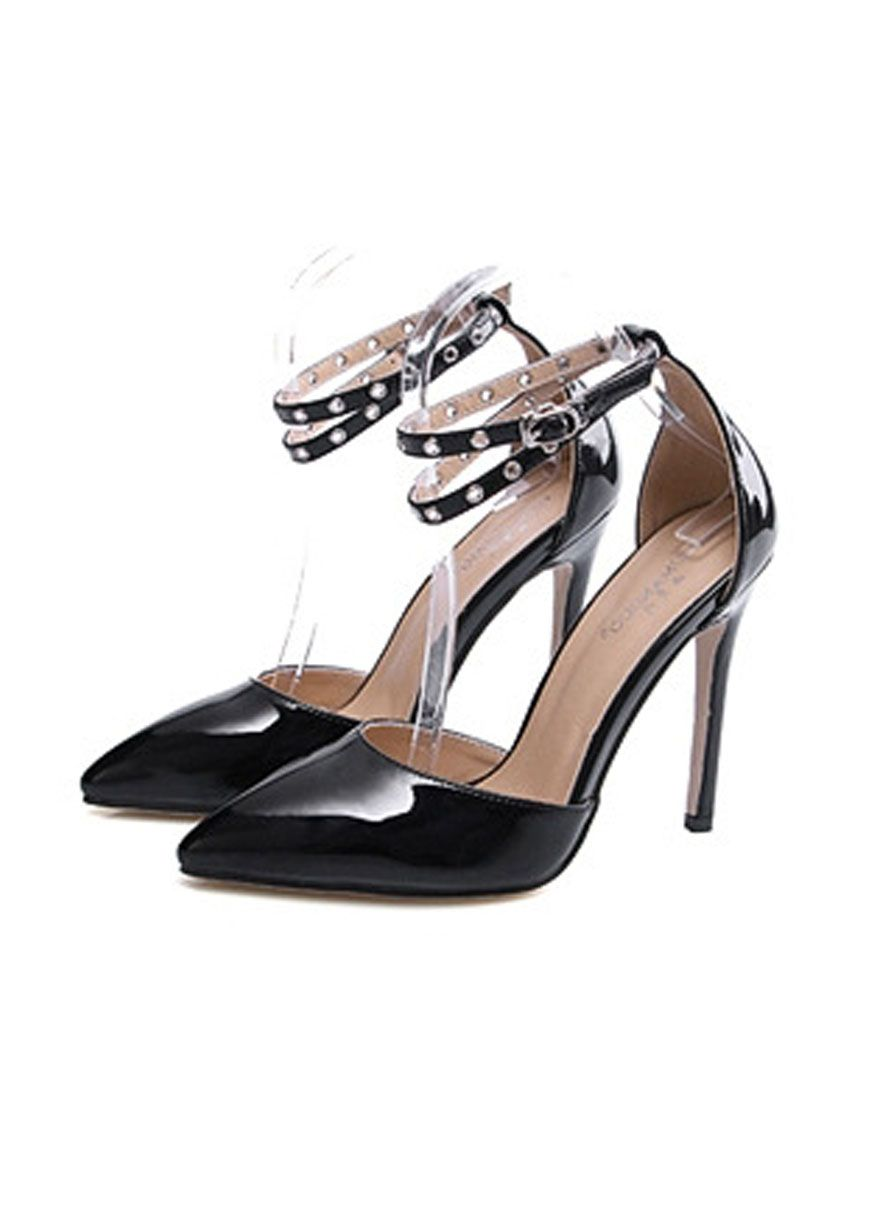 006fdbdbccf Adjustable Ankle Straps Simple Women High Heels  Women Shoes Sexy Lingeire