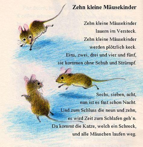 Maus Fingerspiel Kinder Gedichte Maus Illustration Und Kinder Reime