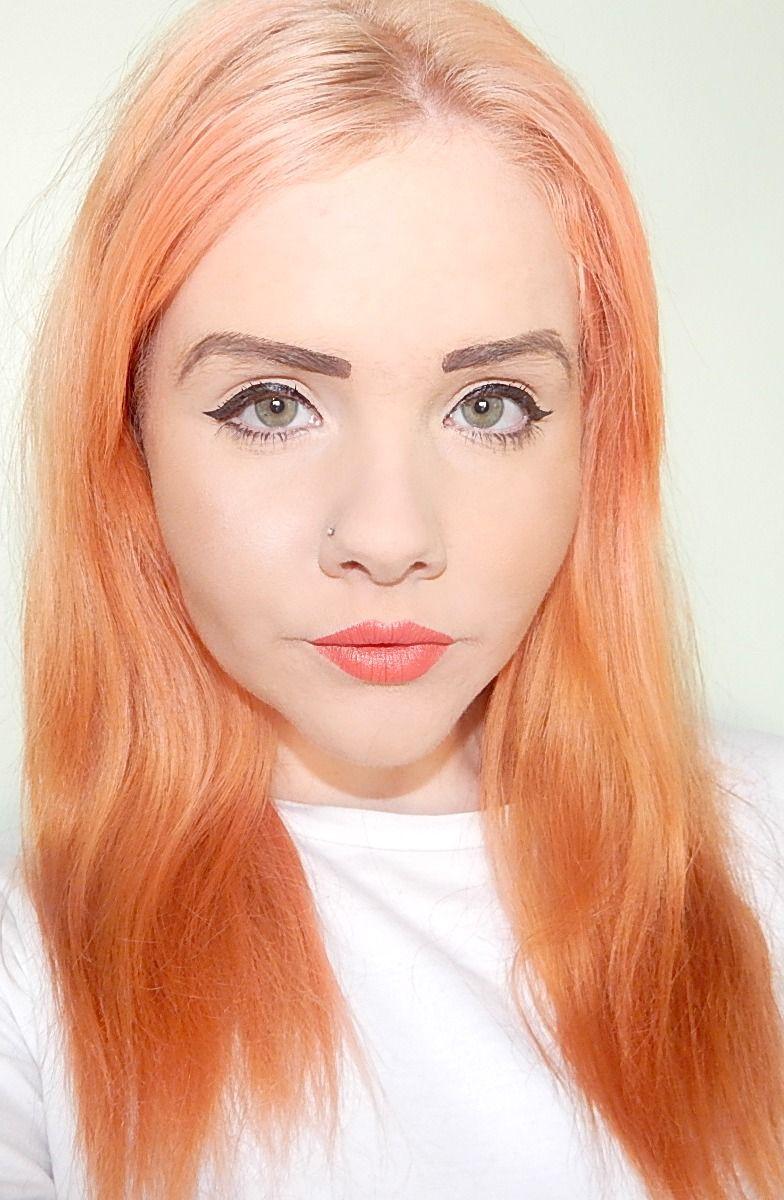 Orange hair  Hair  Pinterest  Bleach london Pastel orange hair