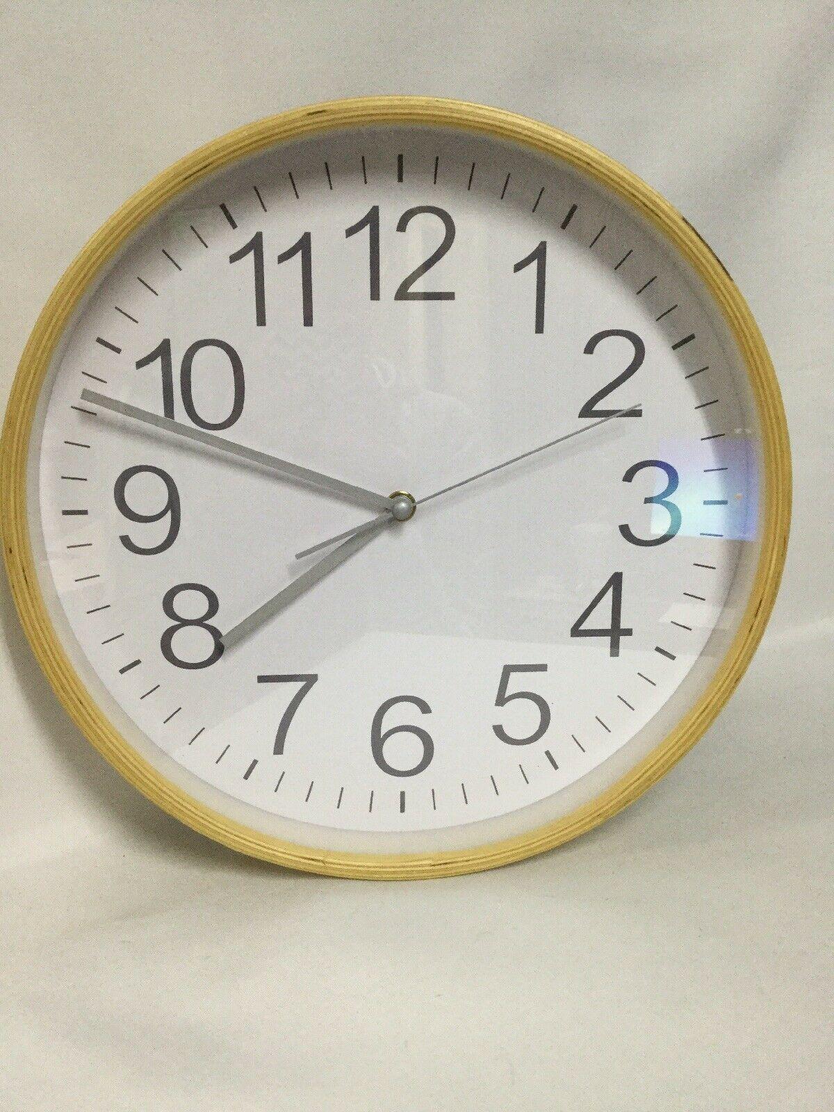 Home Wall Clock Light Wood Decor Silent Non Ticking 11 Wood Clock Ideas Of Wood Clock Woodclock Clock Home Wall Clock Light W Wood Clocks Wall Clock Light Clock