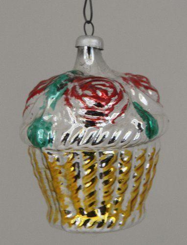 Vintage West German Ornament