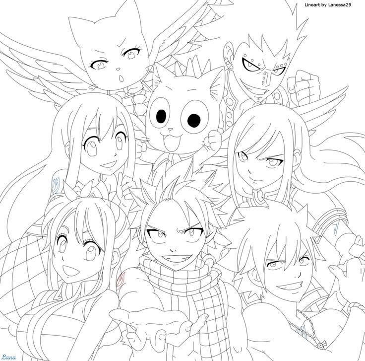 Pin By Gabriela Perez On Things To Draw Fairy Tail