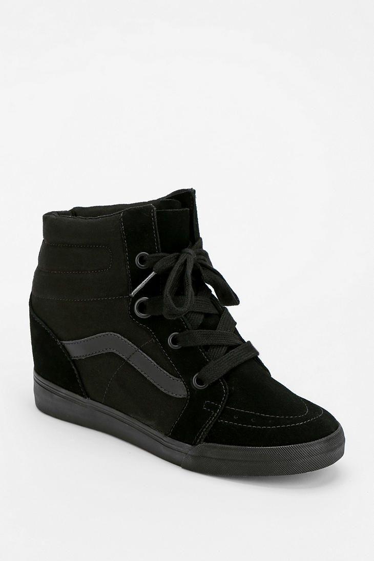 Vans Sk8-Hi Hidden Wedge Women s High-Top Sneaker - Urban Outfitters ... 7d2208286a30