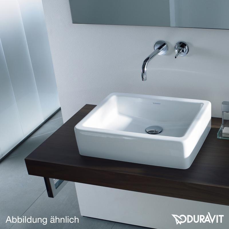 Doppelwaschtisch aufsatzwaschbecken duravit  Duravit Vero Konsole für Aufsatzbecken und Einbauwaschtische ...