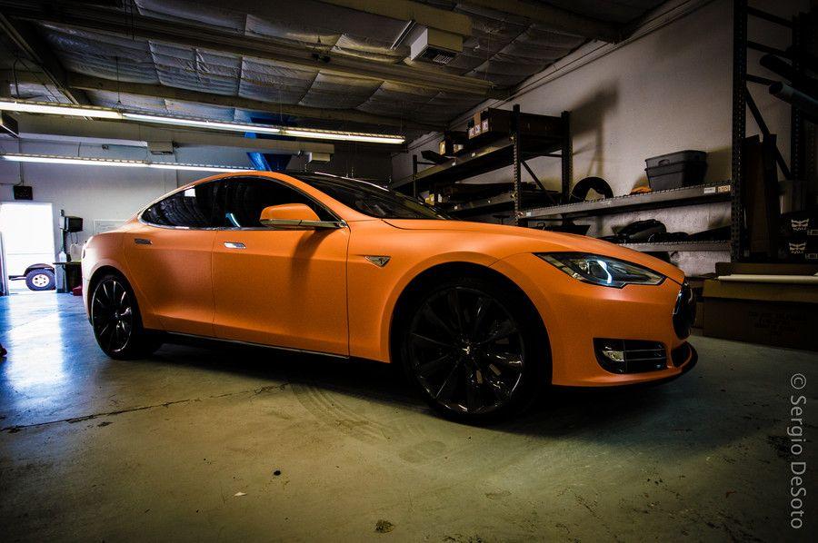 Wrapped Tesla by Sergio DeSoto on 500px Car wrap, Cool