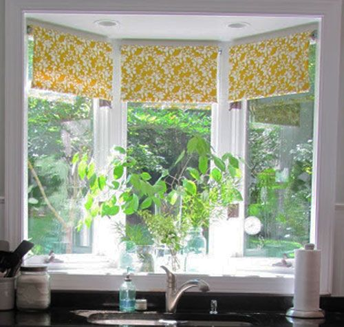 Diy Decorating Ideas One Of The Est Ways To Cover Windows Is With Roller Shades But They Look So Plain Banish Blah S By Covering Them In A