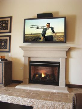 Family Room Fireplace Remodel - traditional - living room ...