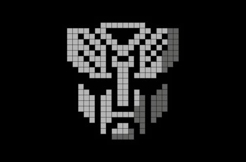Autobot Snip Pixel Art Templates Minecraft Pixel Art