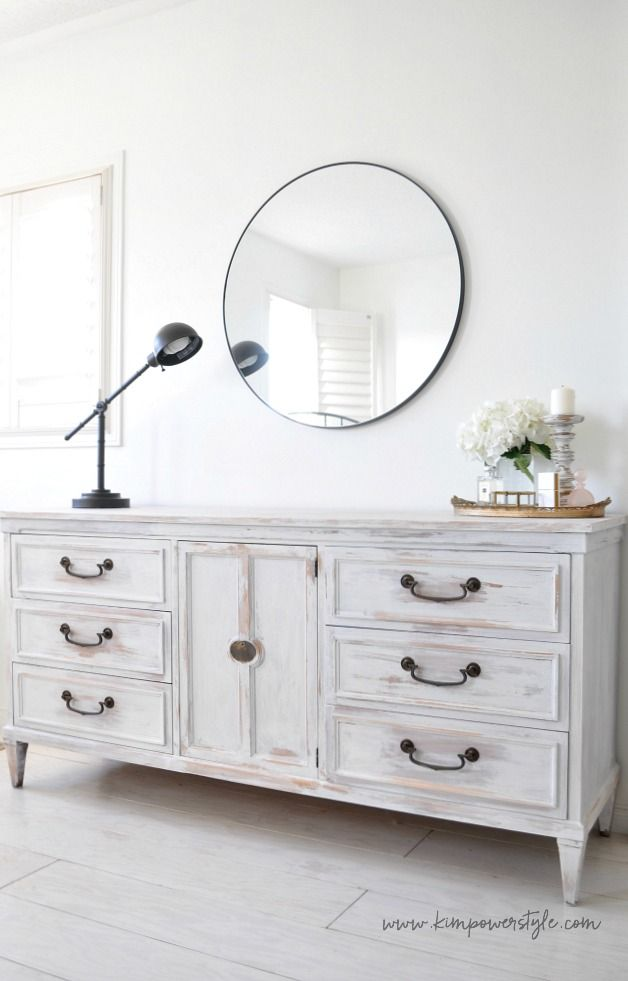 The Guest Room Makeover And White Washing Furniture In 2020 White Wood Furniture White Wood Bedroom Furniture Bedroom Furniture Makeover