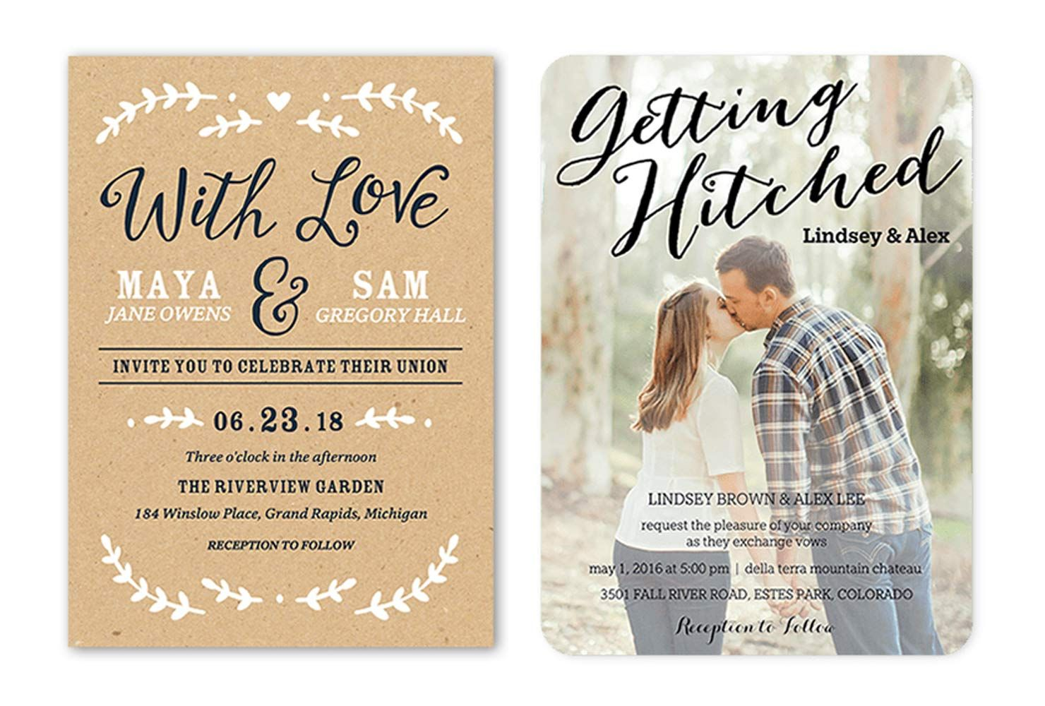 35 Wedding Invitation Wording Examples 2020 Shutterfly Di 2020