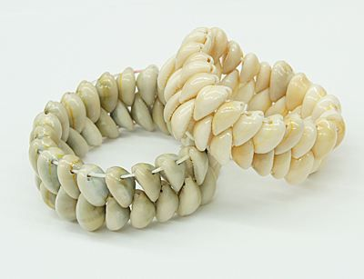 Pretty Shell Bracelets, with Shell Beads.