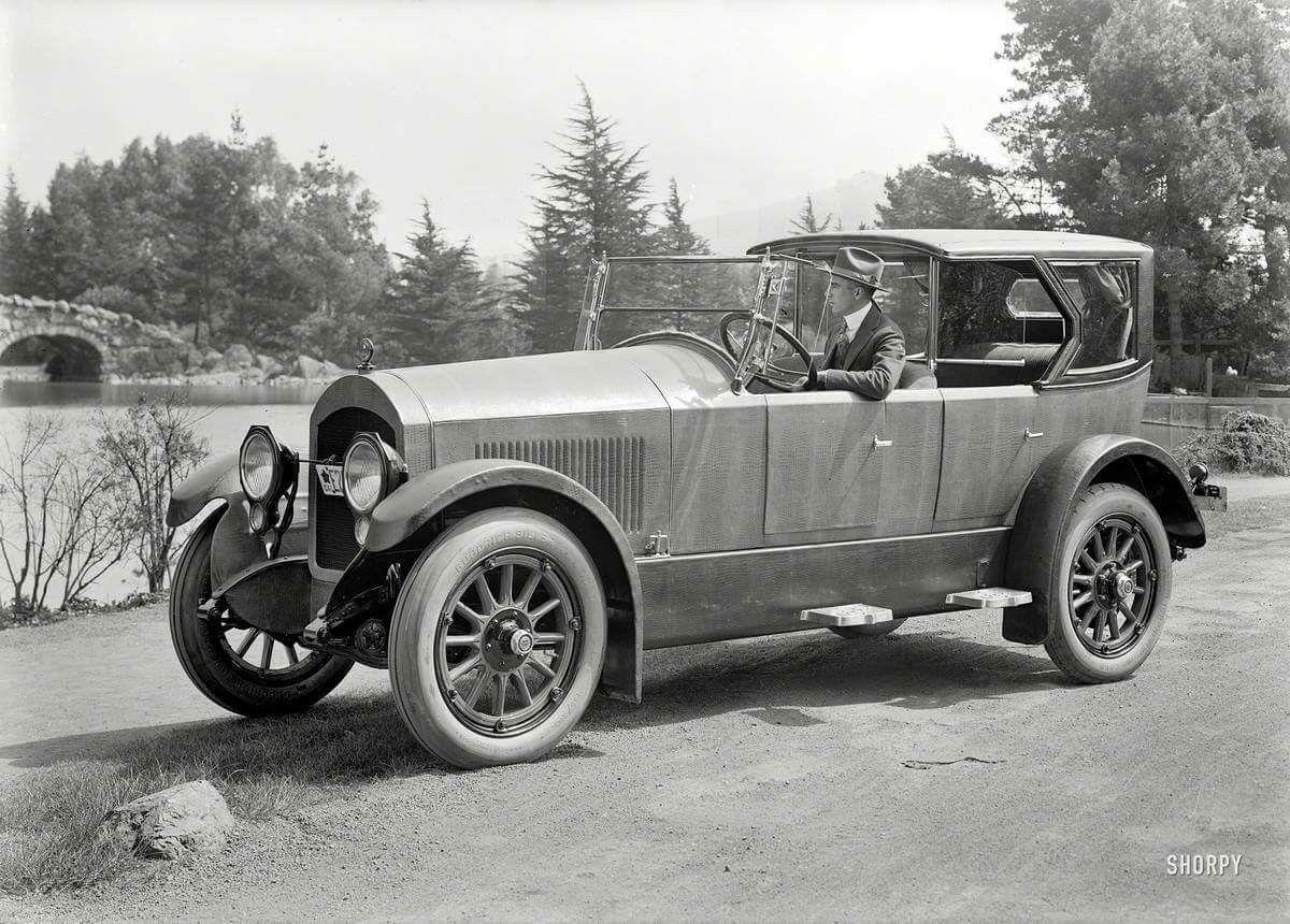 Cole touring car, around 1919 | VINTAGE CARS & BIKE | Pinterest | Cars