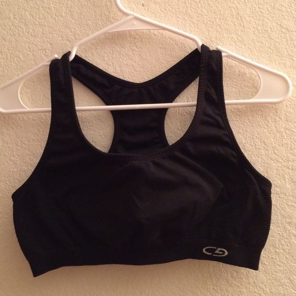 Target brand sports bra Black target brand sports bra. Gently worn. Still in good condition. Target Intimates & Sleepwear Bras