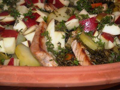 En verden af smag!: Svinekoteletter i Rømertopf
