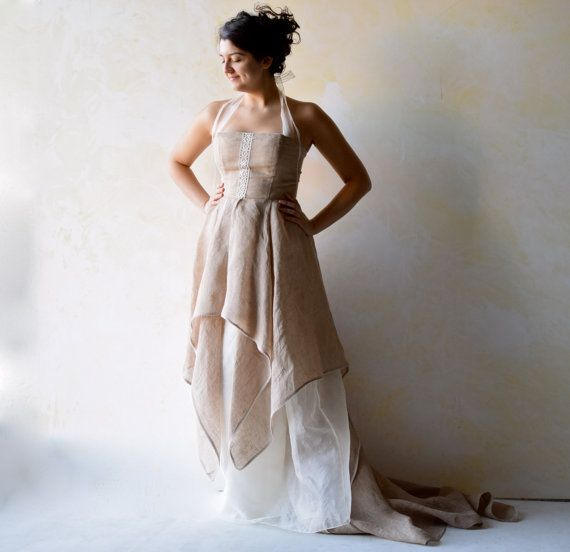 Etsy su https://www.etsy.com/it/listing/218209206/wedding-dress-woodland-wedding-dress