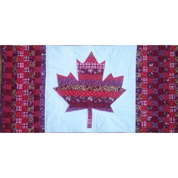 Canadian Flag Wall Hanging | Wall hangings, Patterns and Craft : canadian flag quilt - Adamdwight.com