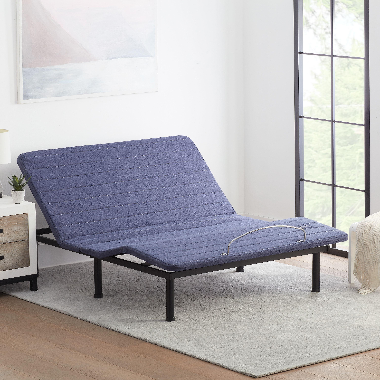 Mainstays Remote Adjustable Bed Frame Multiple Sizes Walmart Com Adjustable Bed Frame Adjustable Beds Bed Frame