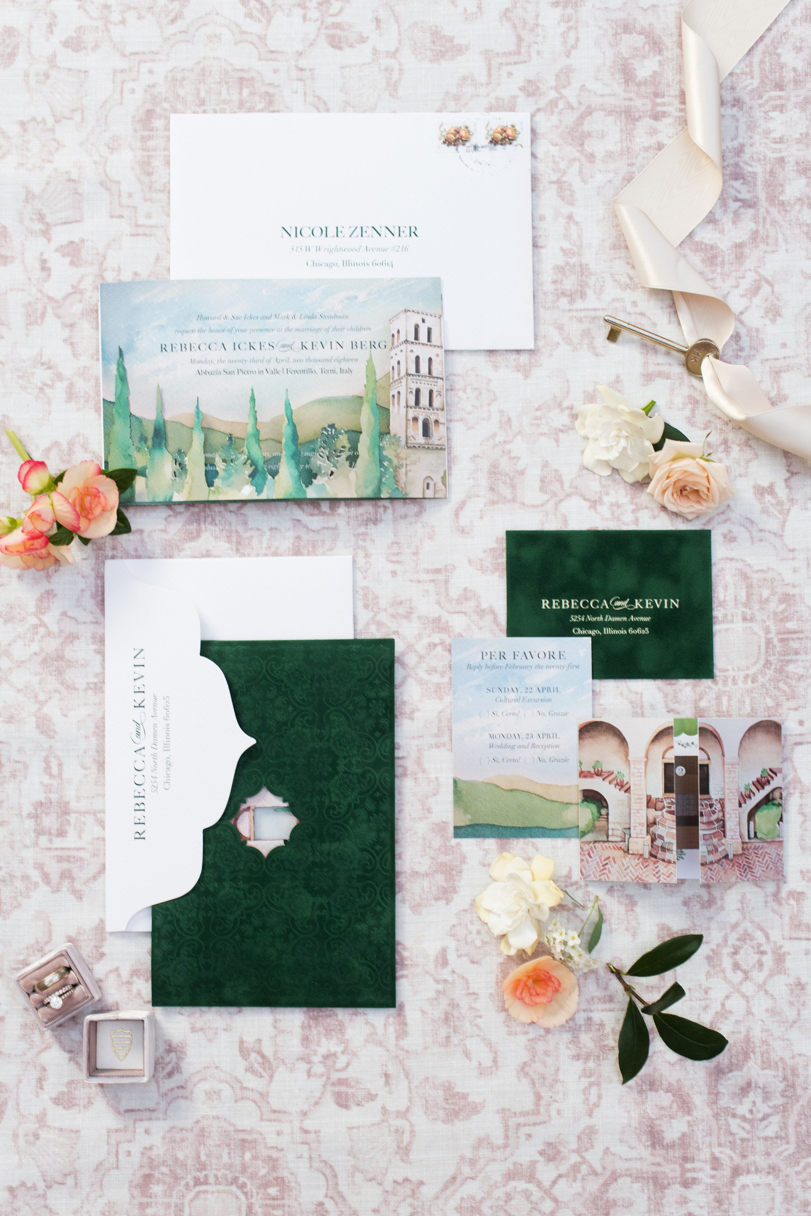 Partecipazioni Matrimonio Zen.Rebecca Kevin Invitation Zen Events Chicago Rebecca Marie Art