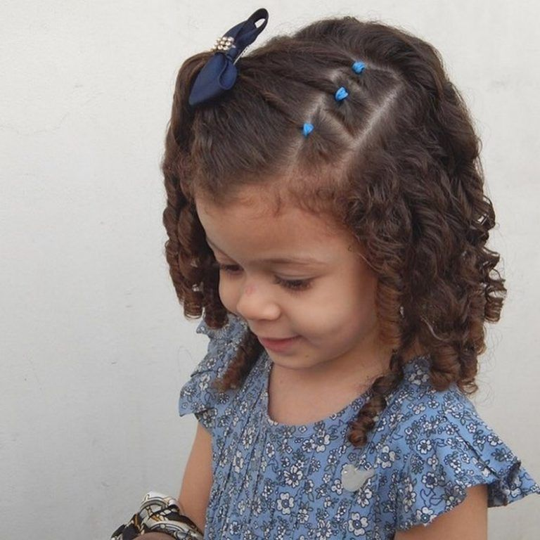hairstyles for toddlers (22) (With images) | Curly hair ...